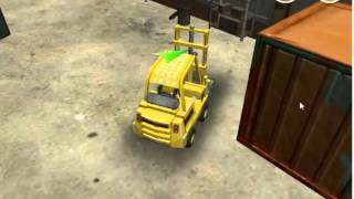 Free 3D forklift truck driving