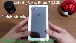 Unboxing Review iPhone 7 Apakah direkomendasi?? Kekecilan?? Performa di tahun 2019?? INDONESIA