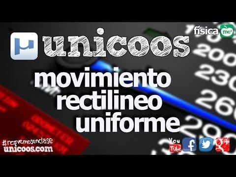 FISICA MRU 01 SECUNDARIA (4ºESO) Movimiento Rectilineo Uniforme