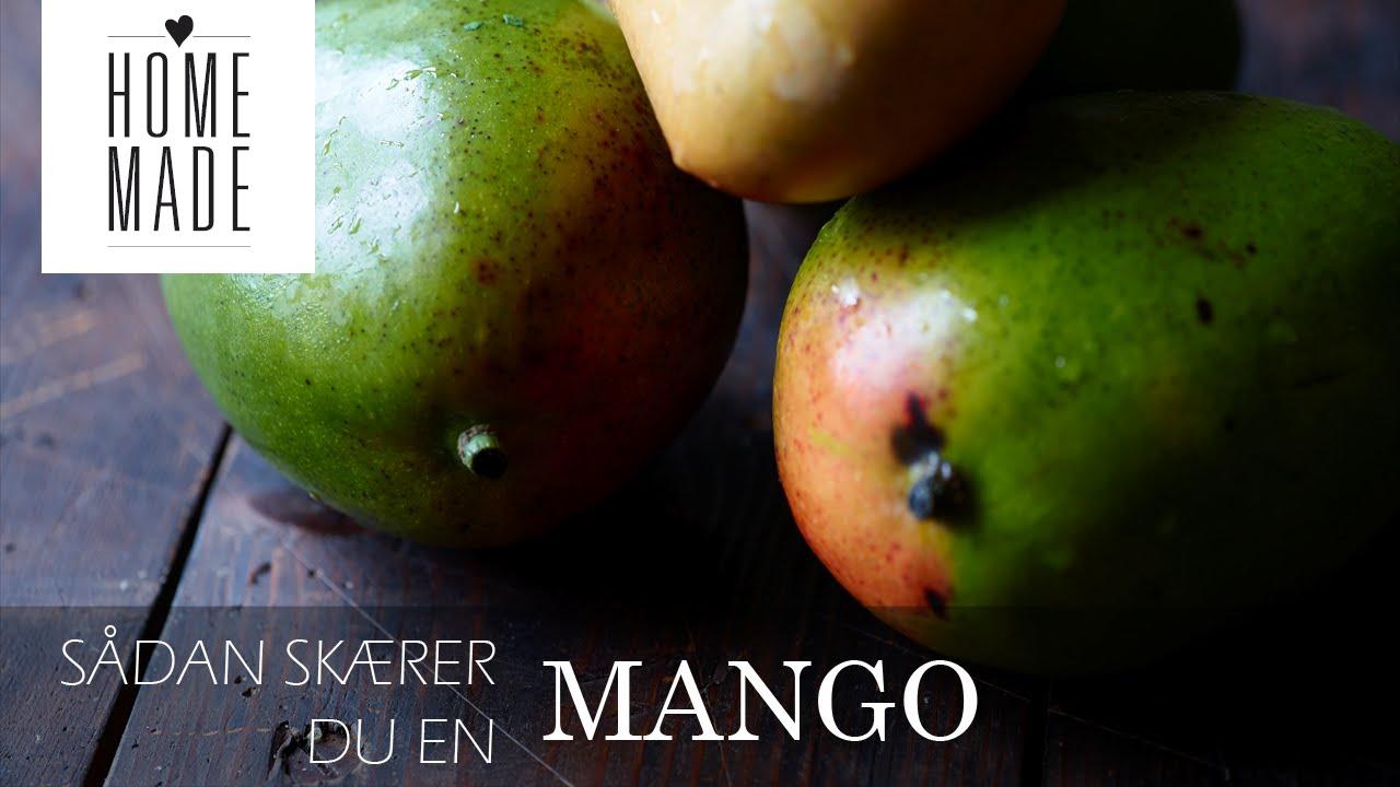 hvordan skræller man en mango