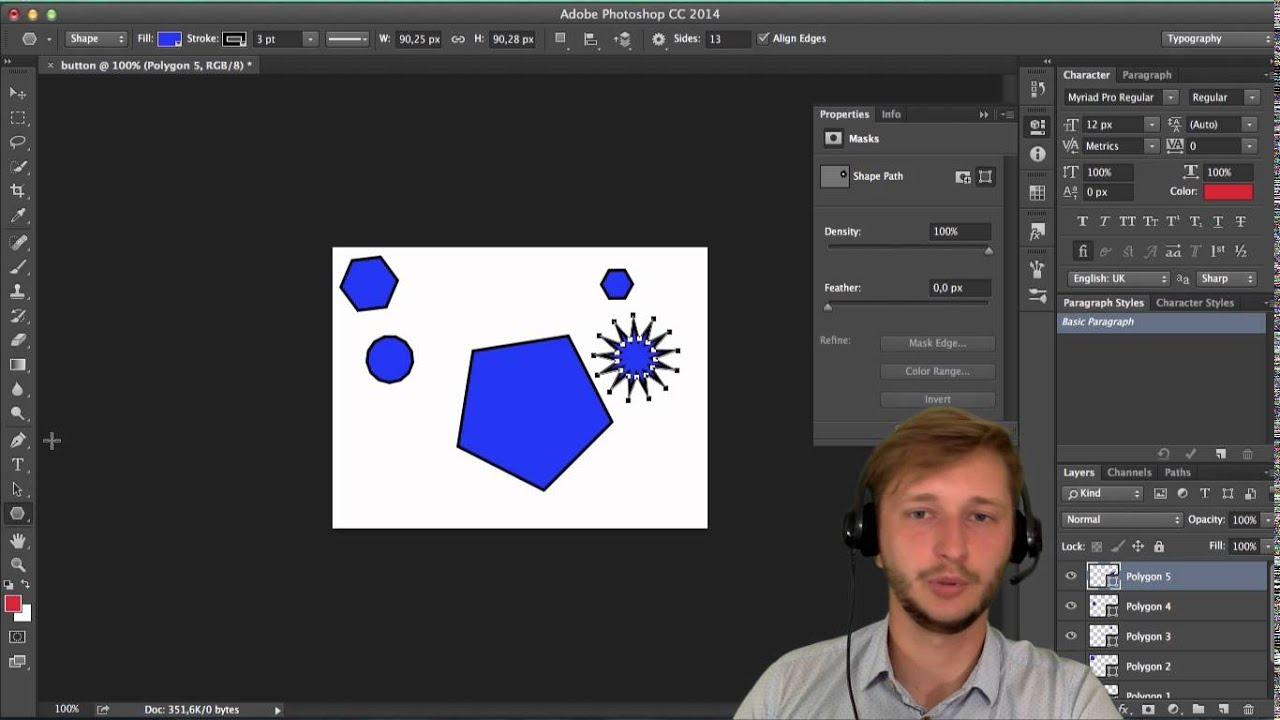 Как сделать квадратики на фото