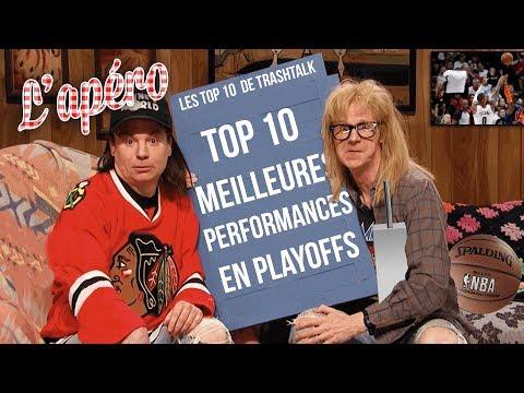 Top 10 meilleures performances de Playoffs all-time