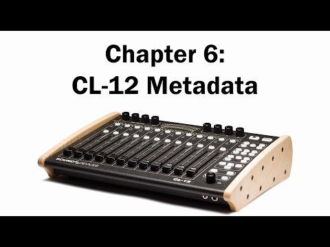 Chapter 6: CL-12 Metadata