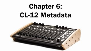 Chapter 6: CL-12 Metadata