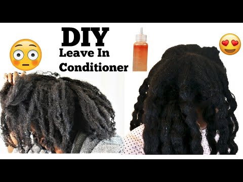 What Dry Hair?| Extreme Dry Hair Fix | DIY Leave In Conditioneir | Natural Hair Fast Hair Growth