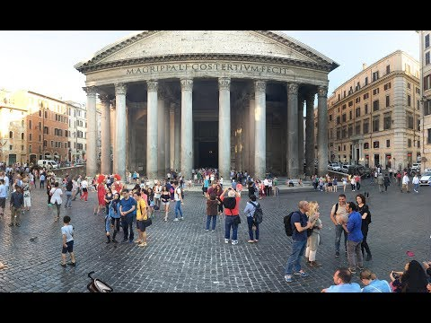The Pantheon Rome 4K Ultra HD Video Must & See Do Travel Guide