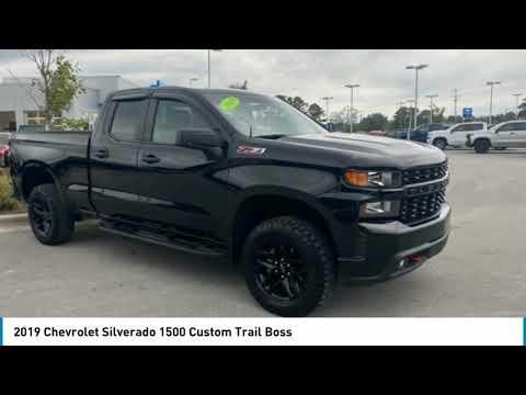 2019 Chevrolet Silverado 1500 Custom Trail Boss For Sale In Swansboro Nc Sc21044a Youtube