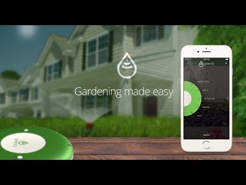 GreenIQ Smart Garden Hub - irrigates your garden smartly