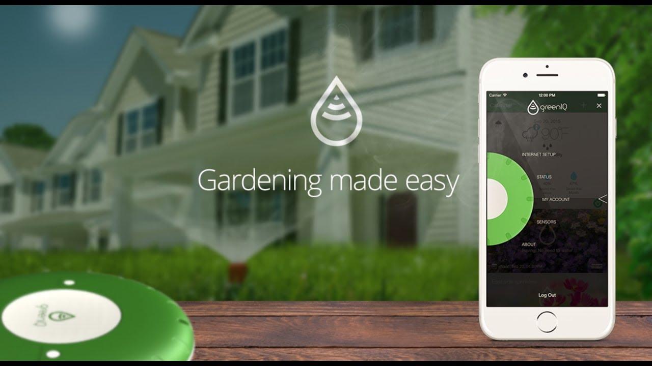 GreenIQ Smart Garden Hub   Irrigates Your Garden Smartly