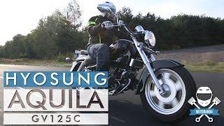 Największy Twardziel w Swojej Klasie: Hyosung GV 125 C Aquila Test