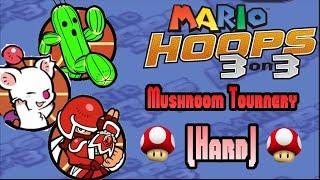 Mario Hoops 3-on-3: Mushroom Tournery (Hard)