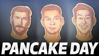 INCREDIBLE SPURS PANCAKES! ft. Heung-min Son, Dele Alli, Harry Kane and Christian Eriksen!