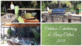 OUTDOOR ENTERTAINING & LIVING COLLAB 2018