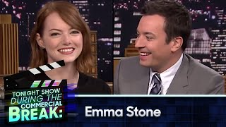 During Commercial Break: Emma Stone