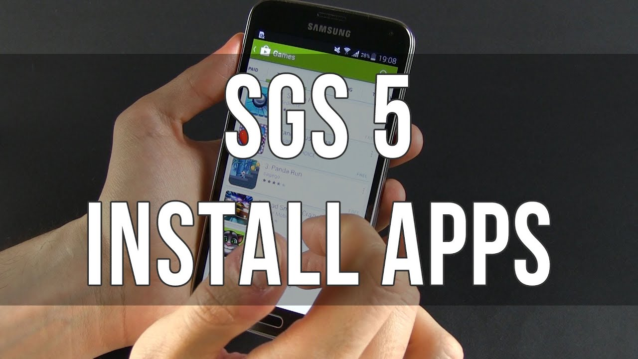 Samsung galaxy s5 how to install and uninstall apps youtube malvernweather Image collections