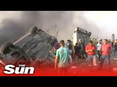 Live: Massive explosion