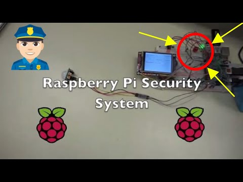 Raspberry Pi 3 Diy Home Security System/Security Camera Final year Project (Sample code available)