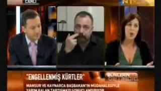 Oktay Kaynarca vs Lale Mansur- Kürt sorunu tartismasi part 2.flv