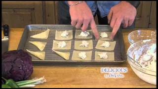 Delicious By Davita: Seafood Wontons And Cabbage Salad