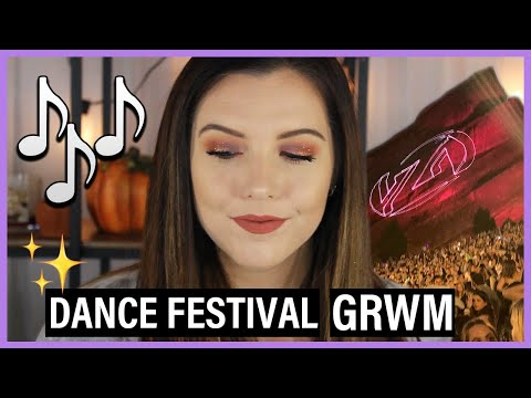 Chatty GRWM | Going to an EDM Concert at Red Rocks! thumbnail