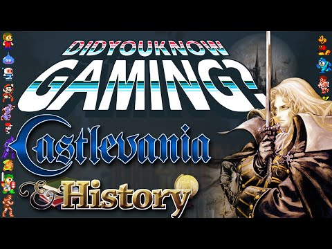Castlevania & History Special - Did You Know Gaming? Feat. Markiplier