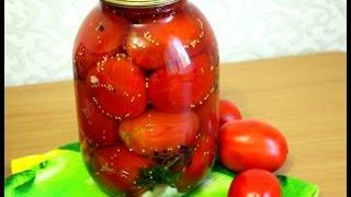 Маринованные помидоры с базиликом и семенами горчицы
