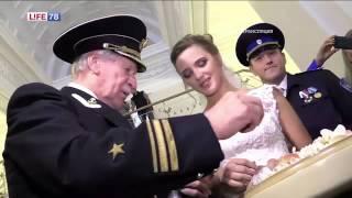 Иван Краско и его молодая возлюбленная расписались в Петербурге