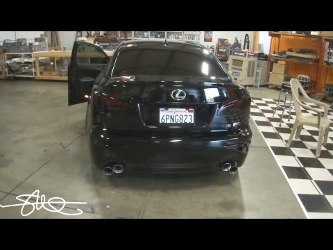 Tinted Tail Lights Lexus Is F With Vht Nightshades Youtube