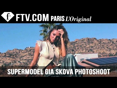 Spending A Day WIth Russian Supermodel Gia Skova  FashionTV