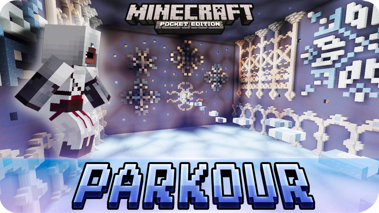 Minecraft PE Maps - Biome PARKOUR Map Download - iOS & Android MCPE 0 16 0  / 0 15 0