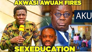 EVANGELIST AKWASI AWUAH THROWS LIGHT ON SEXEDUCATION