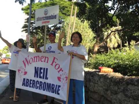 Women for Gov Neil Abercrombie, 7-29-14 1