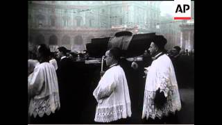 Funeral Of King Alfonso