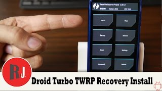 Motorola Droid Turbo TWRP Recovery Install and Kingroot Replaced with SuperSU