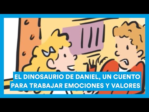Emociones Dinosaurio DanielCuento Trabajar De Y Para El Valores CBodxe