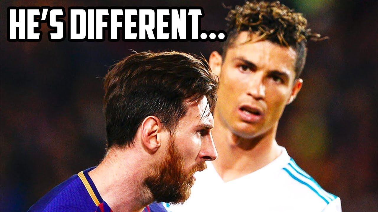 Lionel Messi is... Different