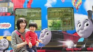 トーマス好きにはたまらない!京阪電鉄きかんしゃトーマス号2017に乗ってきた