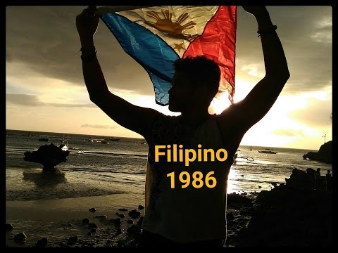 Filipino 1986 - Original Song about heroes of EDSA!