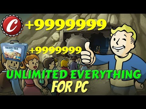 FALLOUT SHELTER HACK! - UNLIMITED EVERYTHING FOR PC! *WORKING* (August 2019)