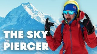 Vidéo : Freeskiing New Zealand's Highest Mountain | The Sky Piercer (Full Movie)