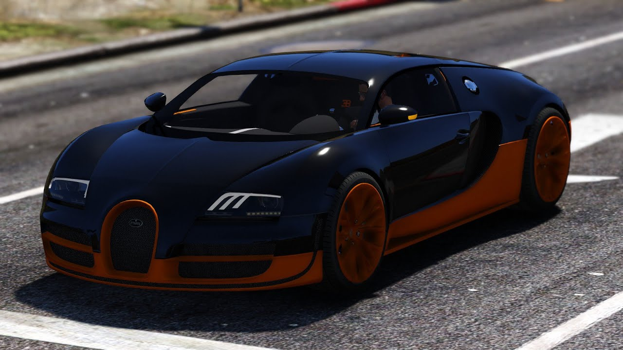 bugatti veyron on gta 5 bugatti veyron grand sport v2 0. Black Bedroom Furniture Sets. Home Design Ideas
