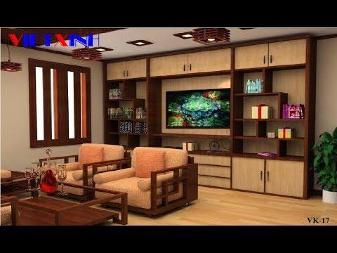 Kệ tivi đẹp, mẫu kệ tivi phòng khách
