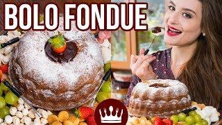 BOLO FONDUE (de Leite Ninho) – Receita Fácil – Inverno