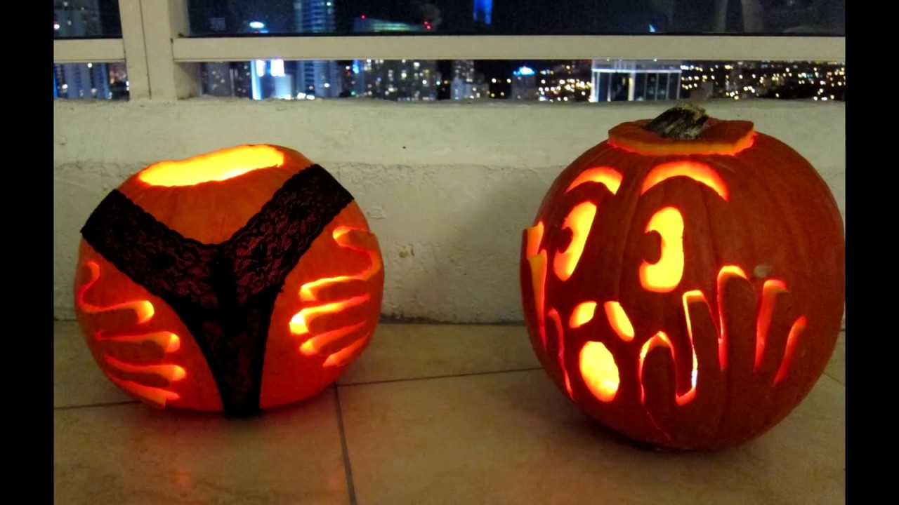 Most inappropriate pumpkins of all time youtube