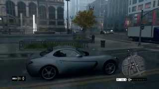 Watch Dogs - Free Roam Gameplay #2 [PS4][1080p]