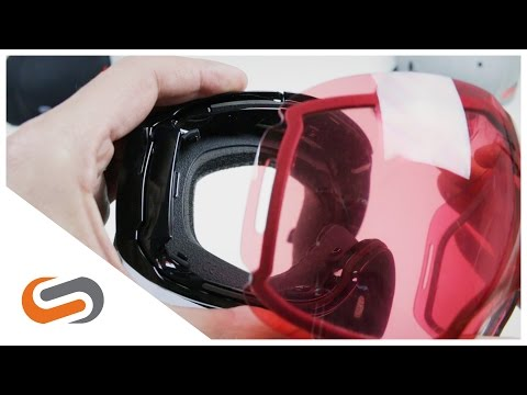 How to Interchange the Oakley Airbrake XL Lens | SportRx