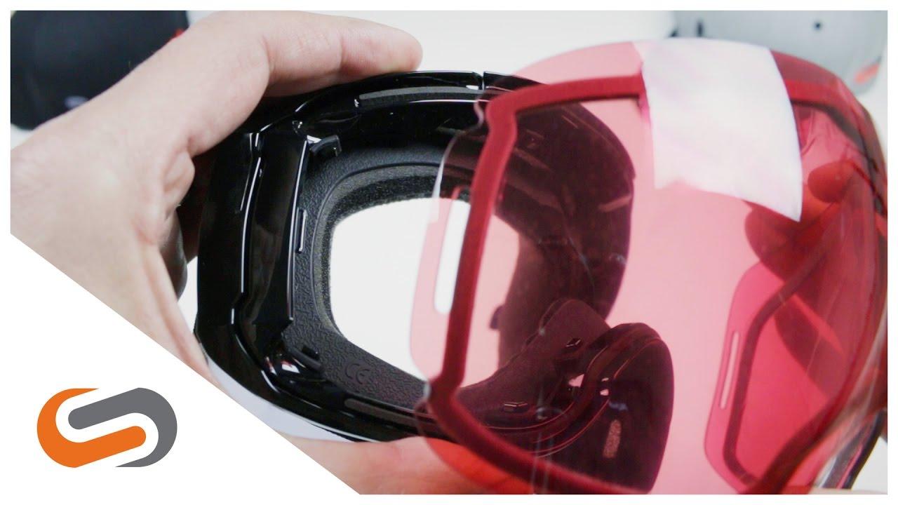oakley airbrake lens change