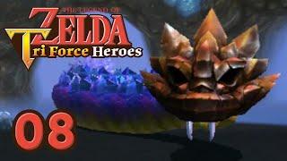ZELDA TRI FORCE HEROES - #08 - Le Serpent du LAG !