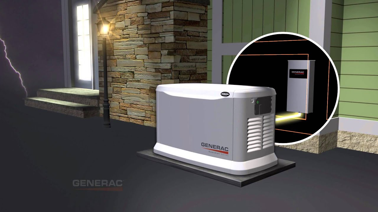 GENERAC TV mercial Acme Electric & Generator services