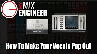 How To Make Your Vocal Pop Out In A Mix - Using Waves S1 & C1
